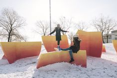 Gallery of Ice Breakers Exhibition Brings Interactive Public Art to Toronto's Waterfront - 1