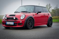 Chili red-black r53 mini Cooper s