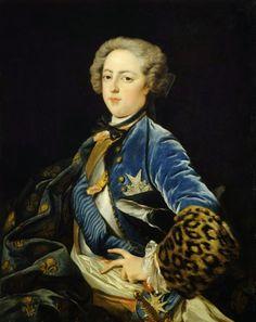 International Portrait Gallery: Retrato del Rey Louis XV de Francia -2-