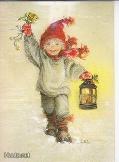 Lisi Martin postikortti 1986