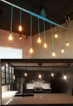 9 pendentif Cluster lumière - Custom fabriqués sur commande. Un appareil avec de nombreuses options ! Voir les photos pour de nombreuses couleurs