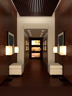 Modern Hallway by www.MimingApe.com (Frank Anes)