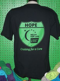 Relay For Life - www.cheaptees.org would be cute for a car show or bike ride