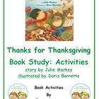 "This wonderful unit contains reading, writing, sorting, rhyming word and drawing activities.  It is focused on the book ""Thanks for Thanksgiving."" ..."