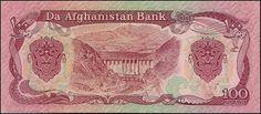 Afeganistão, 100 Afghanis de 1979, pick#58b