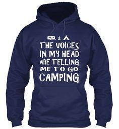 Go Camping Hoodie
