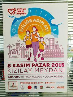 """Koşarken iyilik yapılan, iyilik yapılırken koşulan tek spor etkinliği; """"Kızılay İyilik Koşusu"""""""