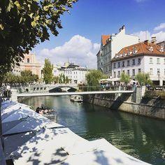 Una piccola capitale, una grandissima scoperta. Lubjana  #lubjana #slovenia #ifellslovenia #officinadelturismo #lifestyle #travel