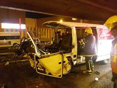 Thirty five people have been injured after three taxis collided on the M4 South bound just after Quality Street in Durban on Friday evening around 6:30pm