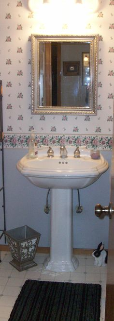 Water closet decor on pinterest built in cabinets - How to decorate a water closet ...
