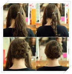 simple updos for long hair 2013