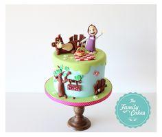 The Family Cakes: Bolo Masha e o Urso no Piquenique ! :)