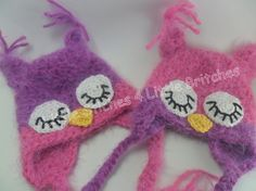 Super soft owl hat made to order by dbnicegirl on Etsy, $17.00