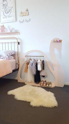 Image of The Swan Display Clothing Rack