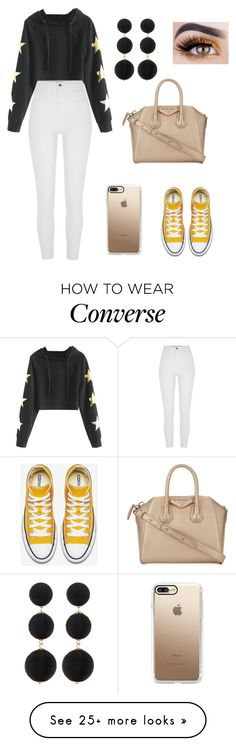 """Untitled #288"" by marie-g05 on Polyvore featuring River Island, Givenchy, Casetify and Cara"
