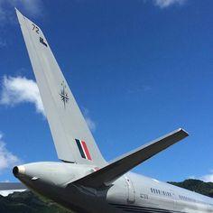RNZAF B757, Rarotonga International Airport @rwilliamck