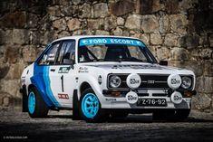 This Portuguese Rally Fan Built His Dream Car: A Rally-Spec Ford Escort – En Güncel Araba Resimleri Autos Rally, Rally Car, Corolla Dx, Custom Muscle Cars, Classic Tractor, Ford Classic Cars, Ford Escort, Sports Car Racing, Car Ford