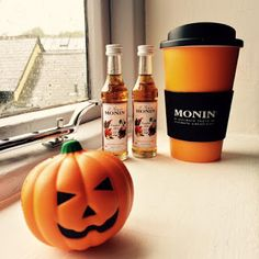 Monin Pumpkin Spice Syrup & Cocktails - perfect for autumn! Recipes attached.   Vinspire