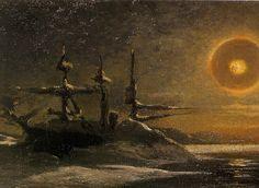 Julius Payer Die Tegetthoff in der Mitternachtssonne