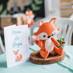 Fox Party, Baby Party, Forest Party, Woodland Party, 1st Birthday Parties, Baby Boy Shower, Decoration, Roman, Ideas