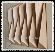 Solid_wood acoustic_diffuser