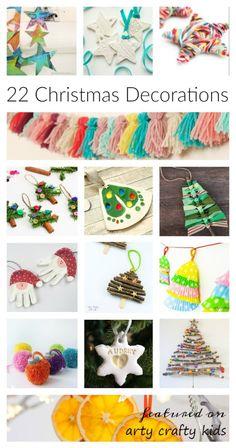 Arty Crafty Kids - Seasonal - 22 Simple Christmas Decorations