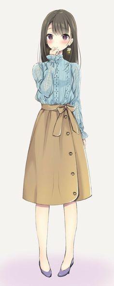 Fashion Girl Anime Inspiration 37 Ideas – About Anime Blonde Anime Girl, Anime Girl Dress, Pretty Anime Girl, Manga Anime Girl, Anime Girl Drawings, Beautiful Anime Girl, Anime Neko, Kawaii Anime Girl, Anime Girls