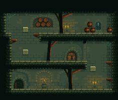 Pixel Art - Platformer Cave Level 01 by Grainfall on DeviantArt Game Design, Game Level Design, Game Character Design, Minimalist Wallpaper Phone, 2d Game Art, Ninja Art, Pixel Art Games, Film D'animation, Game Concept Art