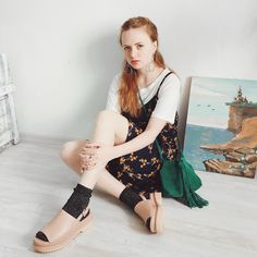 Kristina Magdalina - Zaful Dress, Rosegal Bag - FLOWER PRINT.