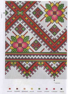Like the colour gradation. Biscornu Cross Stitch, Cross Stitch Charts, Cross Stitch Embroidery, Cross Stitch Patterns, Towel Embroidery, Embroidery Patterns, Thread Art, Ribbon Art, Chart Design