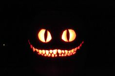 Cheshire Cat Pumpkin Carving Patterns | The Cheshire Cat by 70mustang