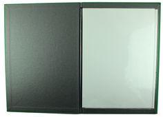 Carbon Rod | A4 - Green Buckram  - Black Buckram