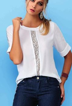 30 Сlothing Details Every Girl Should Keep - Luxe Fashion New Trends - Fashion Ideas Blouse Styles, Blouse Designs, Modest Fashion, Women's Fashion Dresses, Elegant Outfit, Mode Style, Street Style Women, Latest Fashion Trends, Fashion Clothes