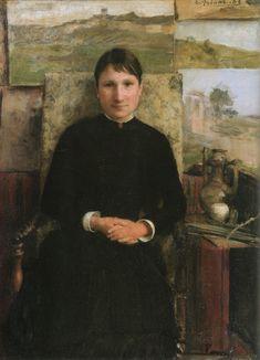 Πορτρέτο της κυρίας Petitjean (1883) Μουσείο Καλών Τεχνών στην πόλη Νανσύ της Γαλλίας