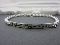 Gift's for your Childs Godmother Personalized by ShinyMetals, $36.00