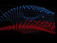 Kinetic Light Sculpture ORBIS-FLY/ Светодиодная кинетическая система ORBIS-FLY - YouTube