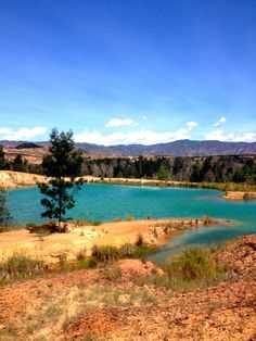 This is my pic of the blue lakes near villa de leyva Colombia. Top Travel Destinations, Places To Travel, Places To Visit, Colombia South America, South America Travel, My Adventure Book, Adventure Travel, Largest Countries, Countries Of The World