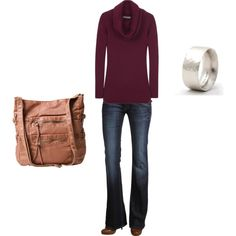 casual Friday in a hurry, created by jinjuro on Polyvore
