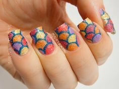manicurator: Travel Supermarket Beauty and the Beach 2 Nail Art Contest Entry