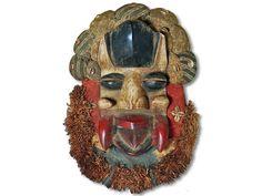 Affenmaske der Dan Liberia/Afrika 46cm kaufen