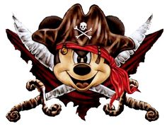 mickey mouse pirate - Google Search