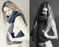 PDF Crochet pattern for Miner's Vest womens sweater от rosetung