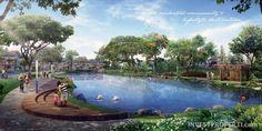 Danau @ The Orchard Summarecon Bekasi Burgundy Residence