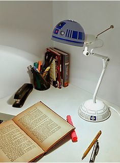 The most loyal droid in the office | Star Wars R2-D2 Small Desk Lamp