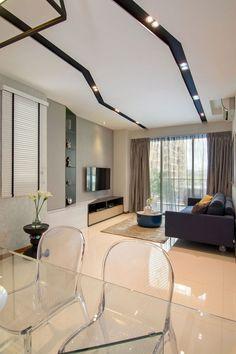Ideas de #decoración e #interiorismo: foseados en el techo para generar sensaciones