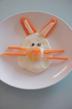 Egg for kids #food #kids #egg #easter #cute #pasqua #bunny