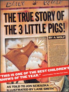 Persuasive Writing- i remember tales like these...my dads version was the best...once upon a time there were 3 little pigs, the big bad wolf ate them!!  The End!!  Now go to bed or the wolf will eat the 3 of youu love this book!