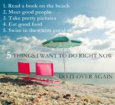 5 Things I want to do right now
