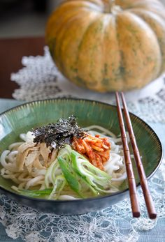 How to make kimchi udon
