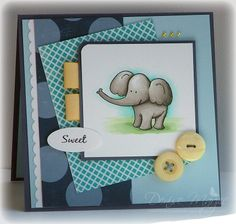 SSS100 Elephant _pb by peanutbee - Cards and Paper Crafts at Splitcoaststampers